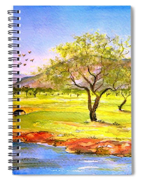 Olive Grove Spiral Notebook