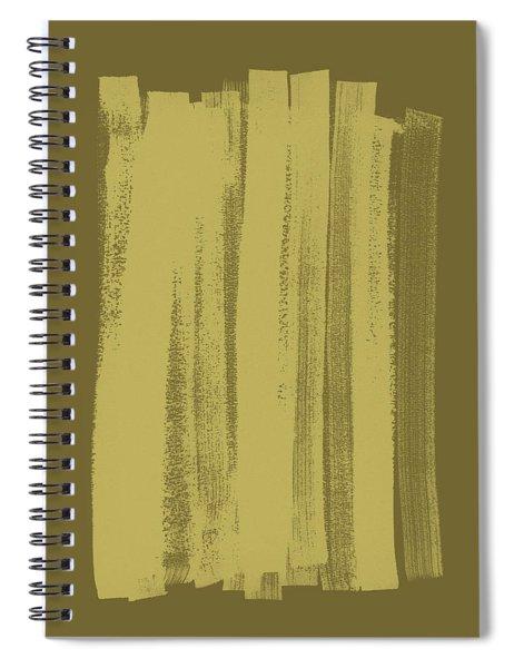 Olive On Olive 1 Spiral Notebook
