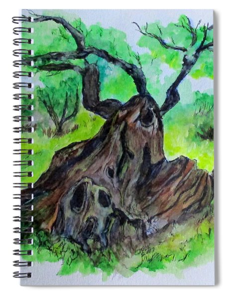Olive Tree Spiral Notebook