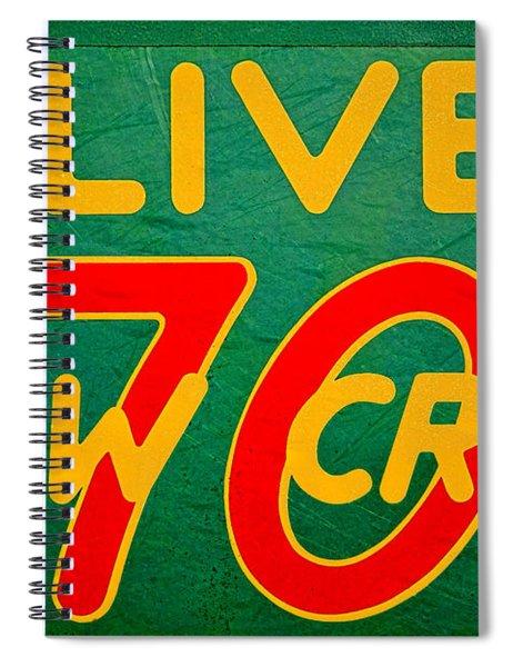 Oliver 70 Row Crop Spiral Notebook