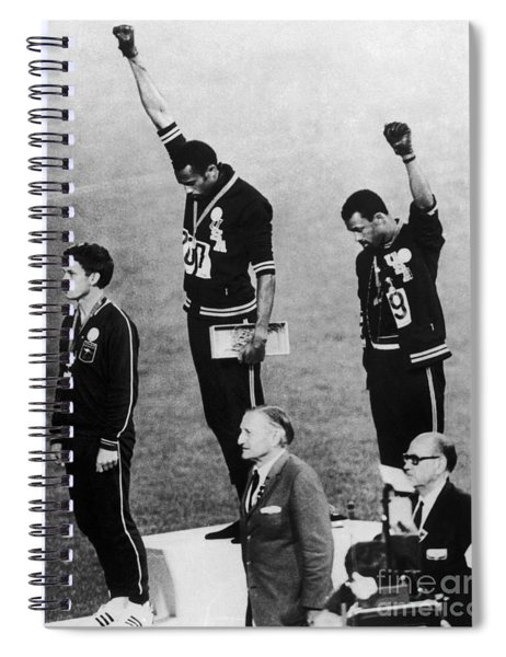Olympic Games, 1968 Spiral Notebook