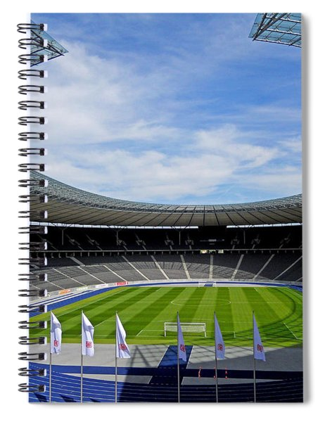 Olympic Stadium Berlin Spiral Notebook