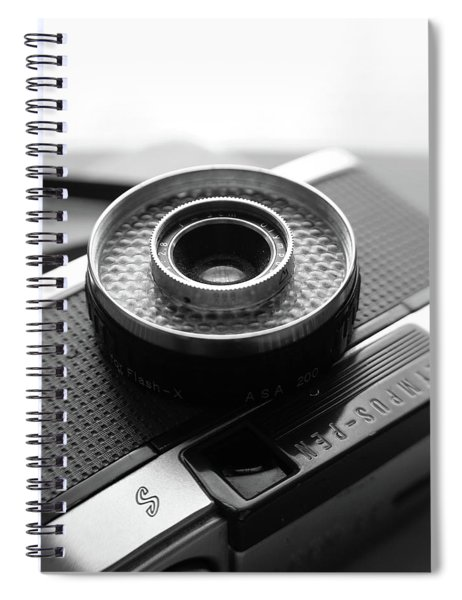 Olympus Pen Ee-s Spiral Notebook