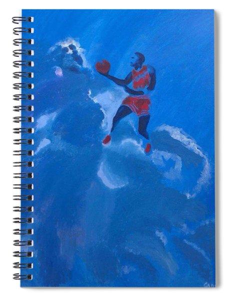 Omaggio A Michael Jordan Spiral Notebook