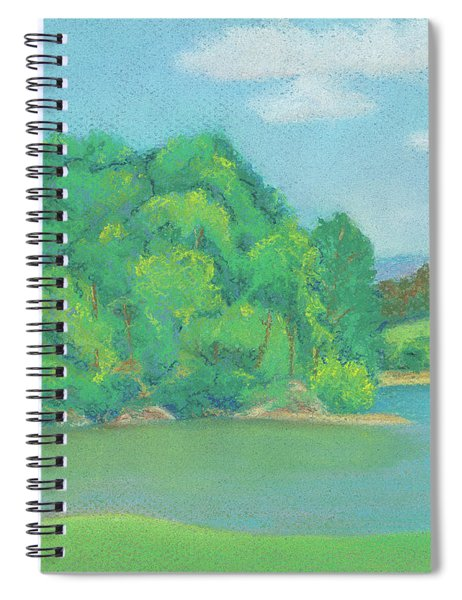 Omega Afternoon Spiral Notebook