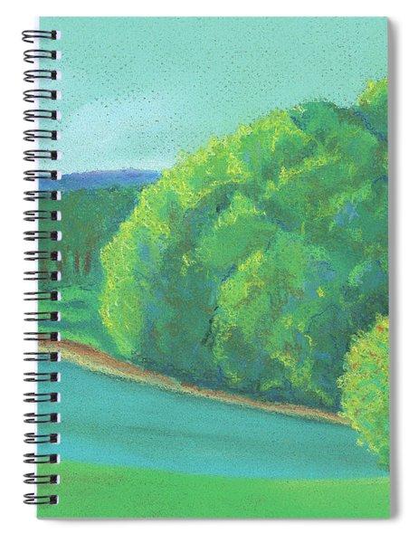 Omega Morning Spiral Notebook