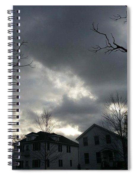 Ominous Clouds Spiral Notebook