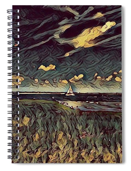 Ominous C's Spiral Notebook