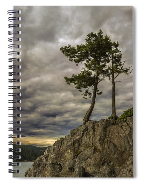Ominous Weather Spiral Notebook