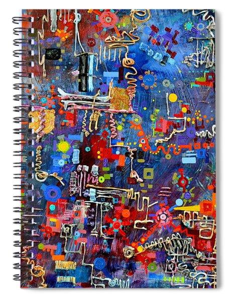 On A Chip Spiral Notebook