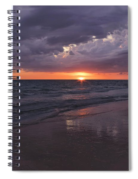 On A Cloudy Night Spiral Notebook