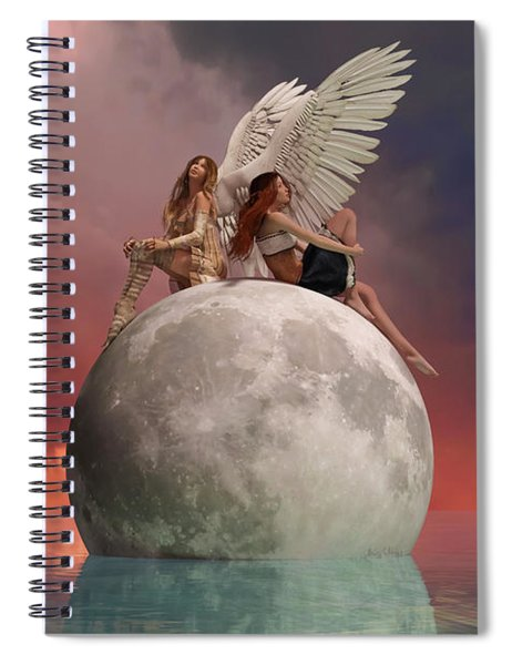 On A Wing And A Prayer Spiral Notebook