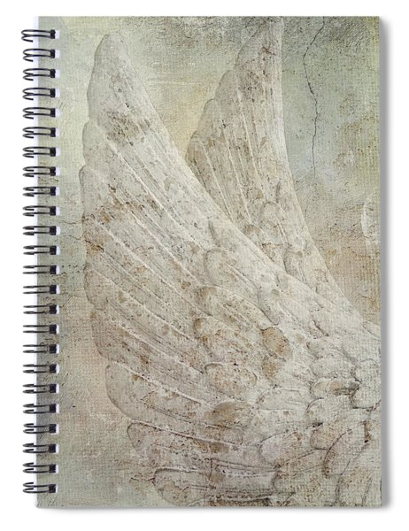 On Angels Wings 2 Spiral Notebook