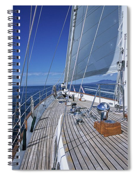 On Deck Off Mexico Spiral Notebook