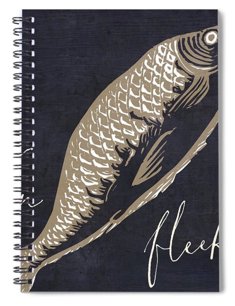 On Fleek Spiral Notebook