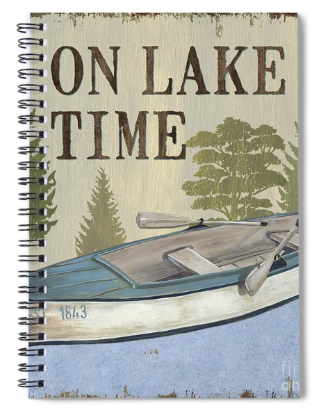 On Lake Time Spiral Notebook