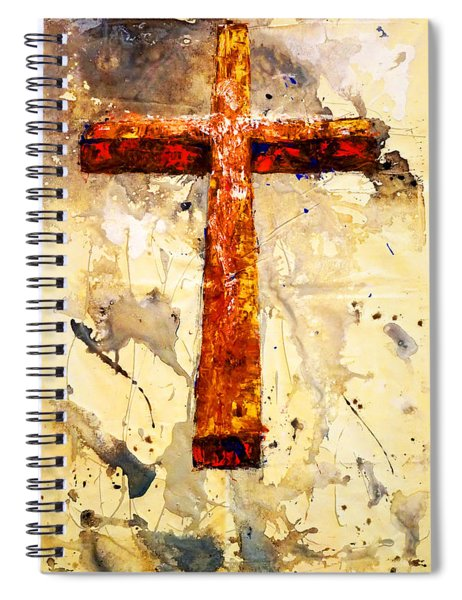 On That Old Rugged Cross Spiral Notebook
