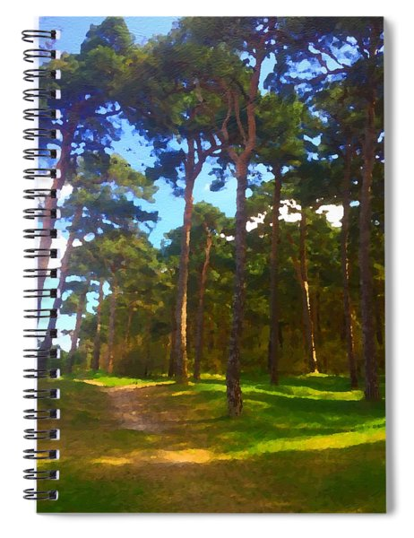 on the Baltic Sea Spiral Notebook