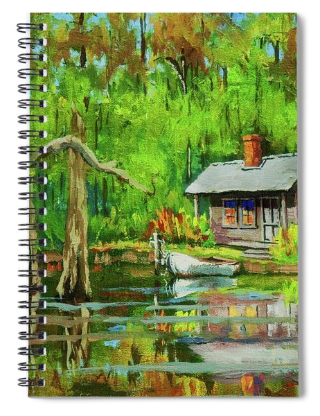 On The Bayou Spiral Notebook