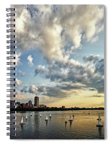On The Charles II Spiral Notebook