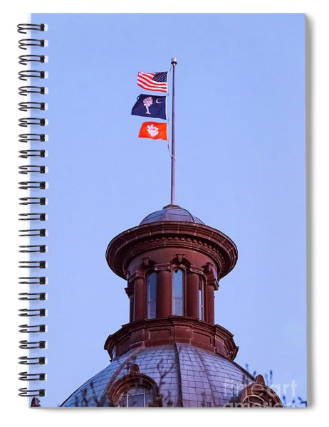On The Dome-5 Spiral Notebook