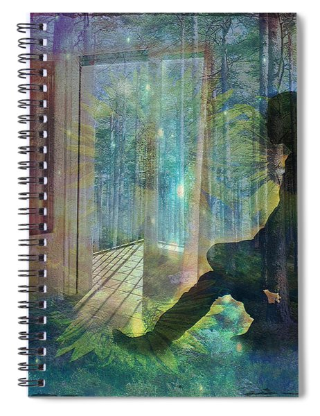 On The Edge Of Summerland 2015 Spiral Notebook