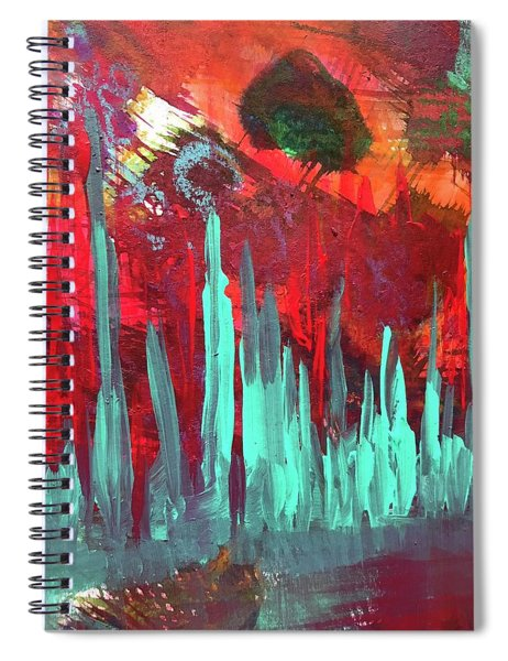 On The Edge Of Tomorrow I Spiral Notebook