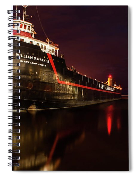 On The Good Ship Spiral Notebook
