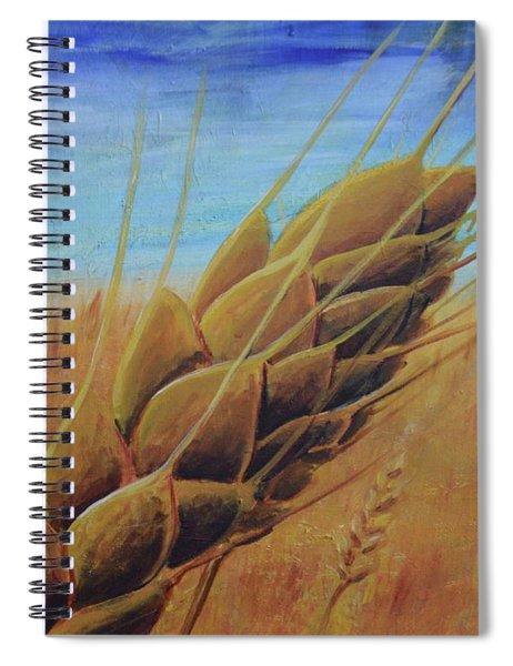 On The Kanza Spiral Notebook