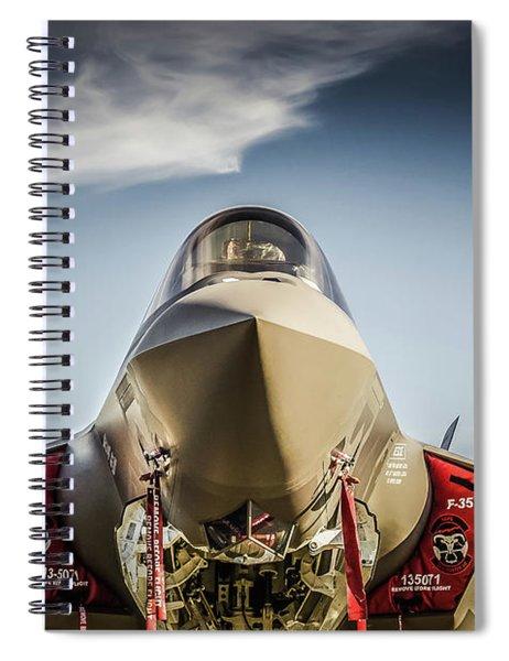 F-35 Lightning II Spiral Notebook