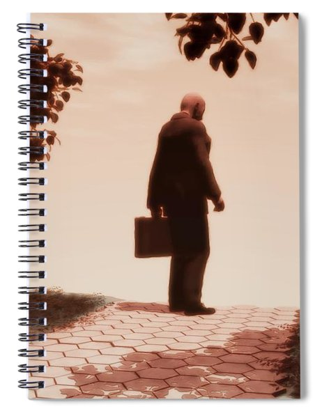 On The Path To Nowhere Spiral Notebook