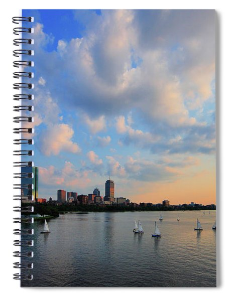 On The River Spiral Notebook