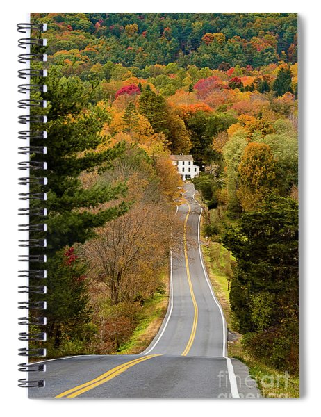 On The Road To New Paltz Spiral Notebook