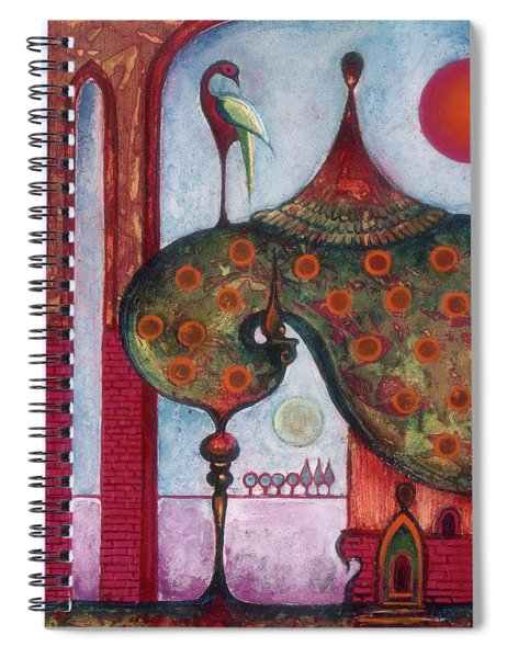 On The Rooftop Of The World Spiral Notebook