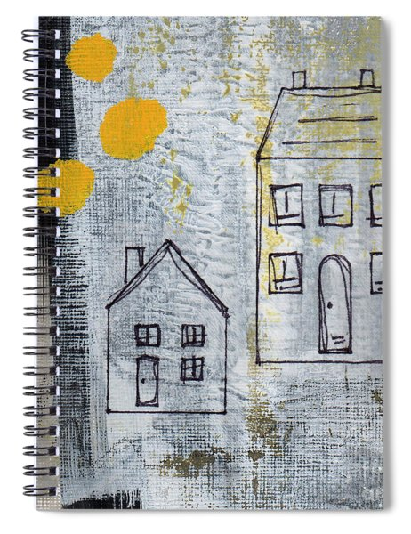 On The Same Street Spiral Notebook