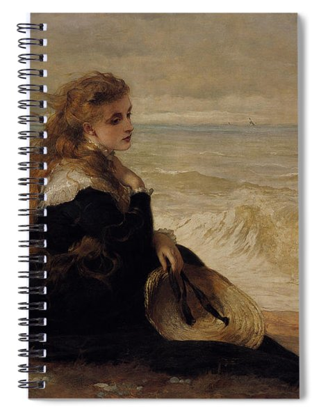 On The Seashore Spiral Notebook