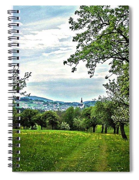 On The Way To Gramastetten ... Spiral Notebook
