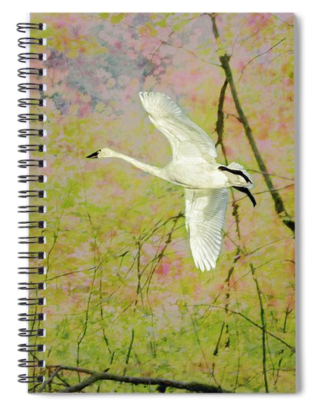On The Wing Spiral Notebook by Belinda Greb
