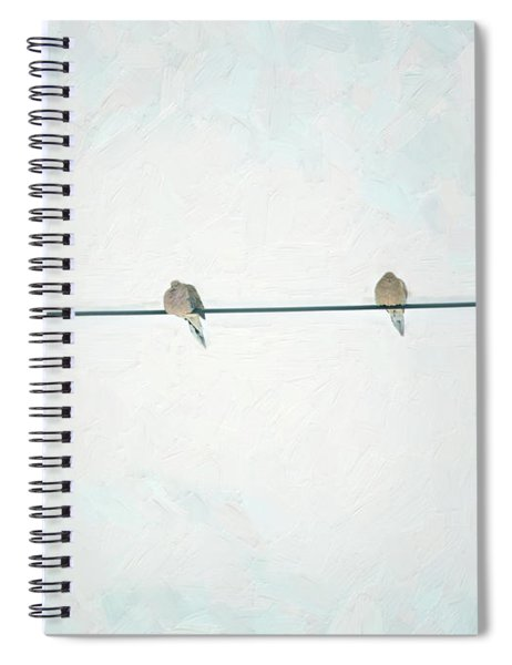 On The Wire Spiral Notebook