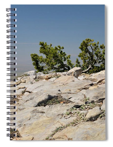 On Top Of Sandia Mountain Spiral Notebook