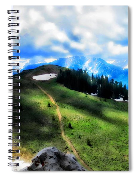 On Top Of The World  Spiral Notebook