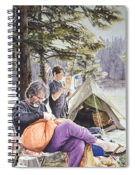 On Tulequoia Shore Spiral Notebook