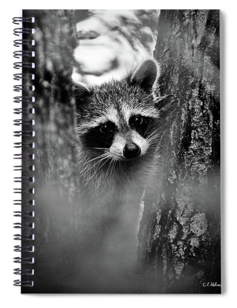 On Watch - Bw Spiral Notebook