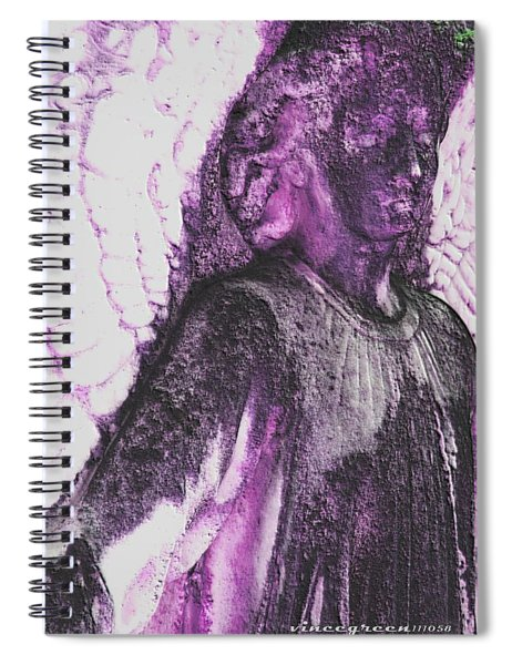 On Wings Of Light Spiral Notebook
