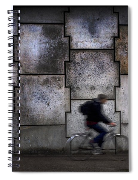On Your Bike. Spiral Notebook