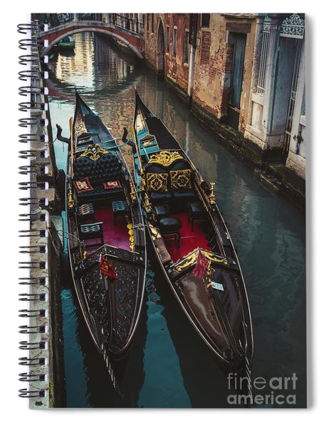 Once In Venice Spiral Notebook