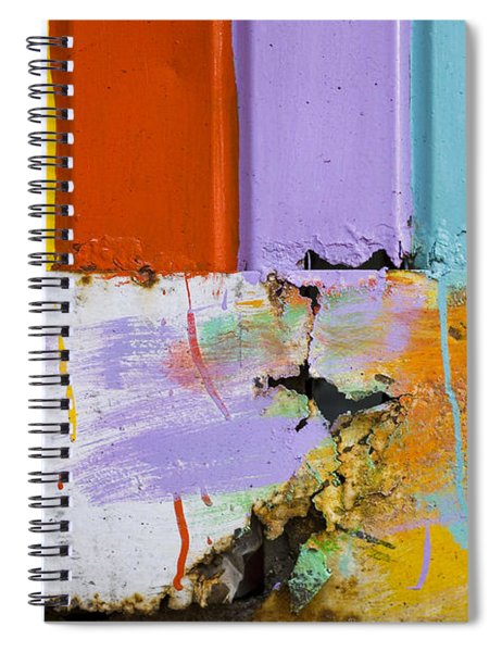 Spiral Notebook featuring the photograph Once Upon A Circus by Skip Hunt