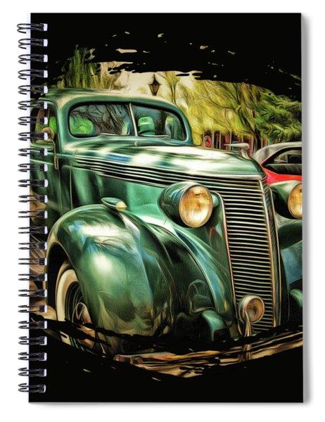 One Cool 1937 Studebaker Sedan Spiral Notebook