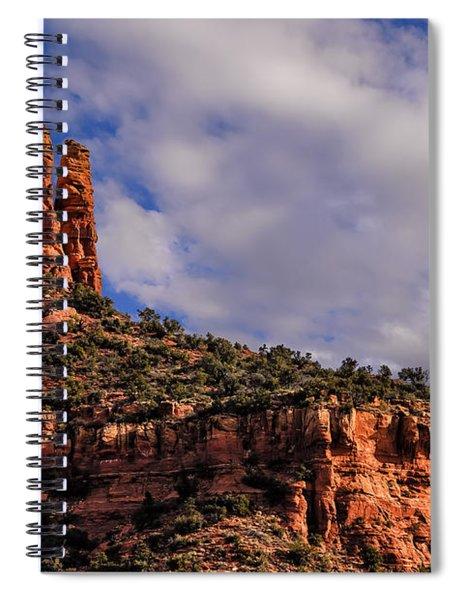 One Finger Shy Spiral Notebook