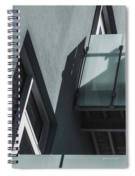 One Floor Up Spiral Notebook